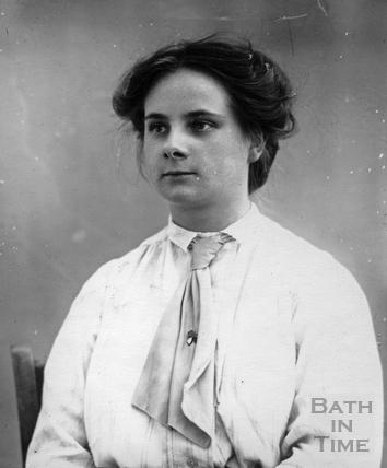 Suffragette Gertrude Stewart c.1910