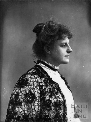Suffragette Georgina Brackenbury 1909