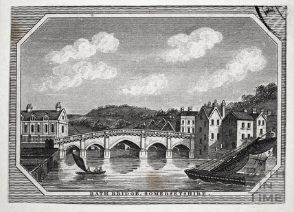 Bath Bridge, Bath 1814