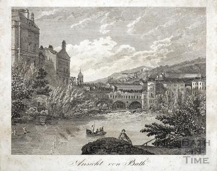 Ansicht von Bath 1816