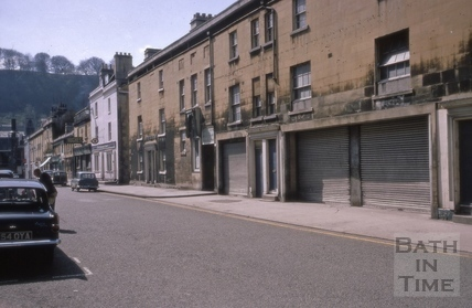 Philip Street and Newark Street, Bath 1967