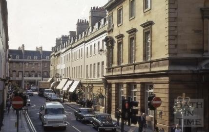 New Bond Street, Bath 1974