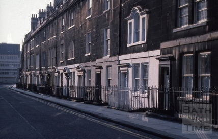 New King Street, Bath 1975