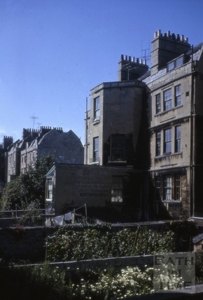 New King Street rear south-east end 1965
