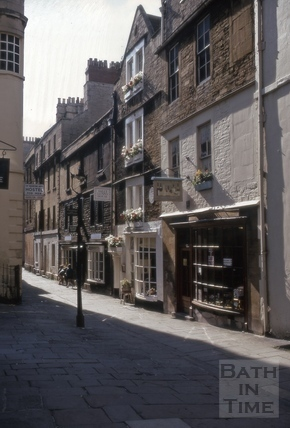 North Parade Passage (Lilliput Alley), Bath 1970