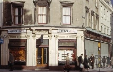 Northgate Street and Bridge Street, Bath 1965