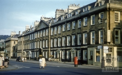 North Parade, Bath 1955