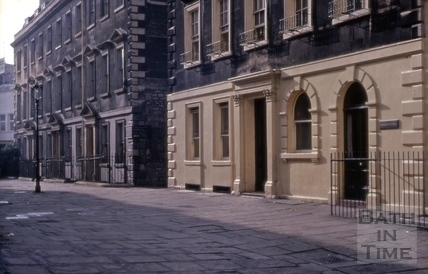 North Parade Buildings (Gallaway's Buildings), Bath 1960s