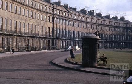 Norfolk Crescent, Bath 1962