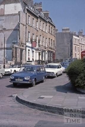 Northampton Street, Bath 1975