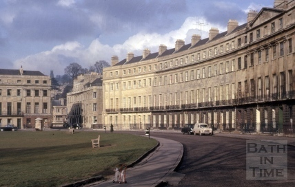 Norfolk Crescent, Bath 1962