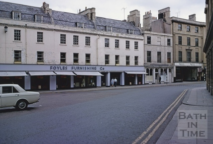 Northgate Street, Bath 1969