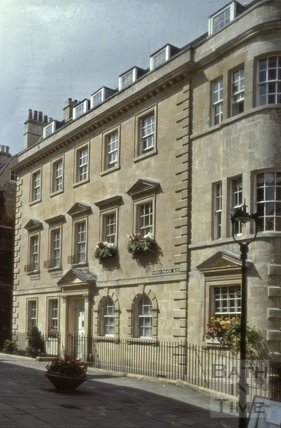 10, North Parade Buildings (Gallaway's Buildings), Bath 1980