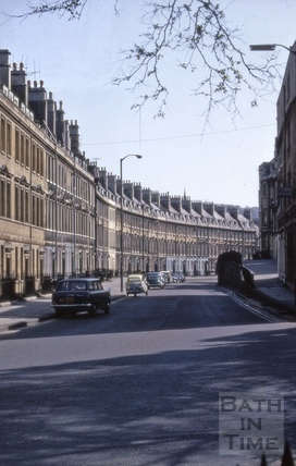 Paragon (Axford's Buildings and Paragon Buildings), Bath 1970