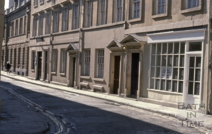 Old Orchard Street, Bath 1970