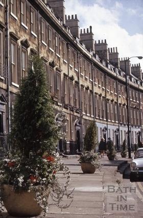 Paragon (Paragon Buildings), Bath 1970