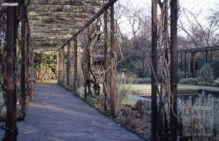 Garden for the blind, Henrietta Park, Bath 1970