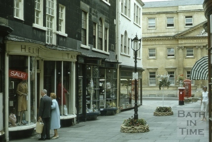 7 to 9, Old Bond Street and the Royal Mineral Hospital, Bath 1969