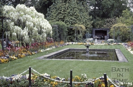 Garden for the blind, Henrietta Park, Bath 1984