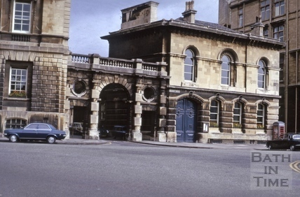Police Station, Orange Grove, Bath 1975