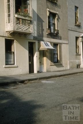 Park Place, Bath 1955