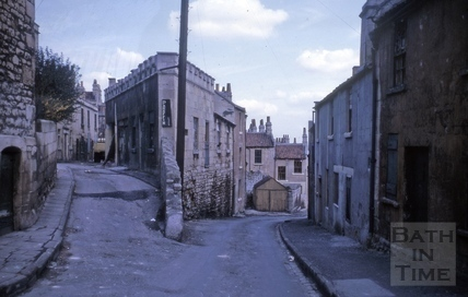 James's Buildings and Pera Road, Walcot, Bath 1964