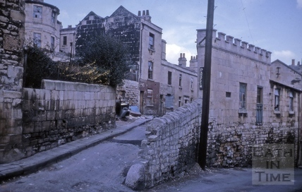 James's Buildings, Walcot, Bath 1964