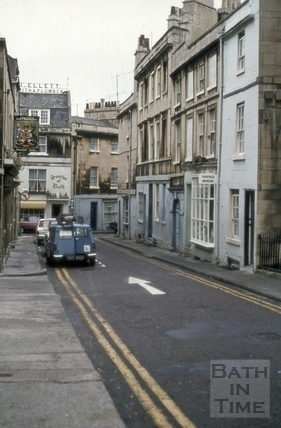Princes Street from Queen Square 1973