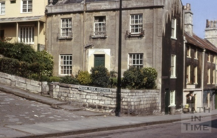 Prior Park Cottages, Widcombe, Bath 1966