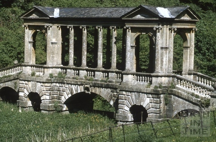 Palladian Bridge, Prior Park, Bath 1958