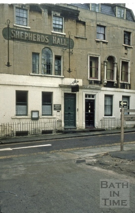 Shepherds Hall, 6 & 7, Princes Street, Bath 1973