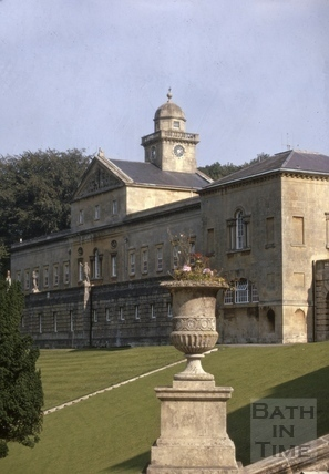 East wing, Prior Park, Bath 1970