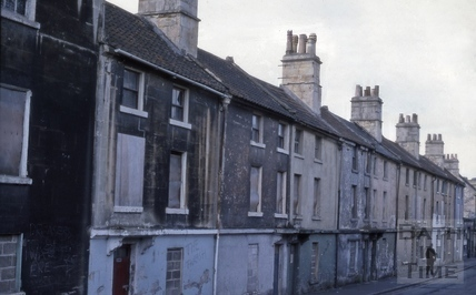 Prior Park Road, Widcombe, Bath 1979