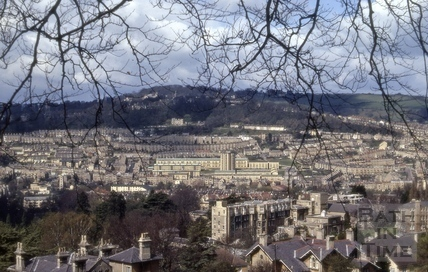 View of Bath from North Road 1972