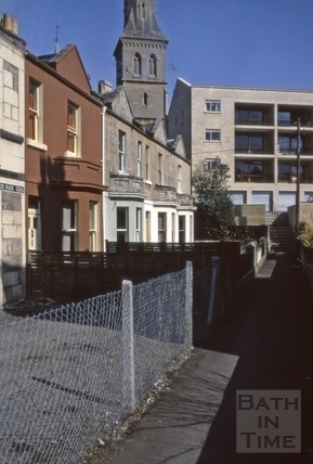 Prior Park Gardens St Matthews Church 1973