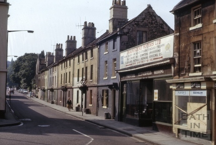 Prior Park Road, Widcombe, Bath 1966