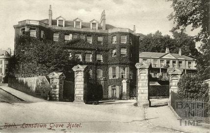 Lansdown Grove Hotel, Bath 1902