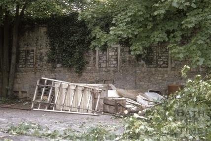 Pulteney Weir old mill 1969