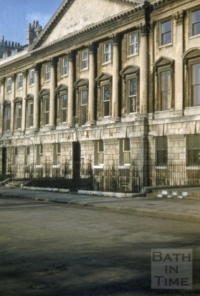 23 to 25, Queen Square, Bath 1956