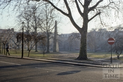 Queen Square railings removed 1977
