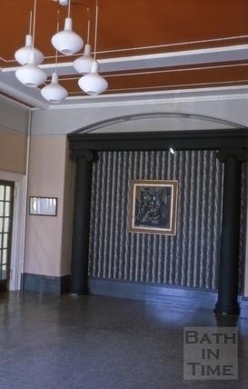 Queen Square No 18 interior 1964