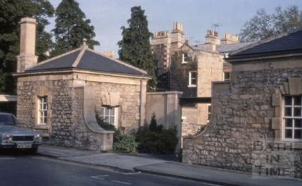Summer houses, Queen Parade Place, Bath 1975