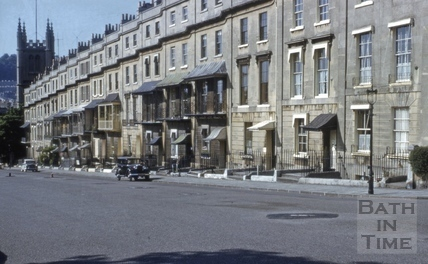 Raby Place, Bathwick, Bath 1957