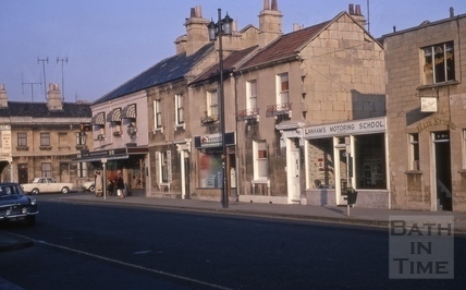 Railway Street, Bath 1969