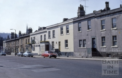 Summerlay's Place, Pulteney Road, Bath 1973