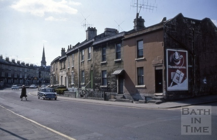 Queen's Place, Pulteney Road, Bath 1973