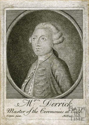 Samuel Derrick, Master of Ceremonies at Bath