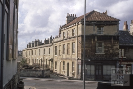 Regent Terrace, Widcombe 1970