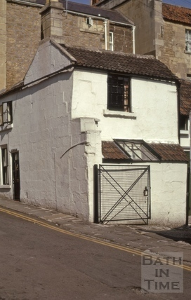 Rivers Street Mews (Stable Lane), Bath 1974