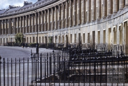 Royal Crescent from east 1957